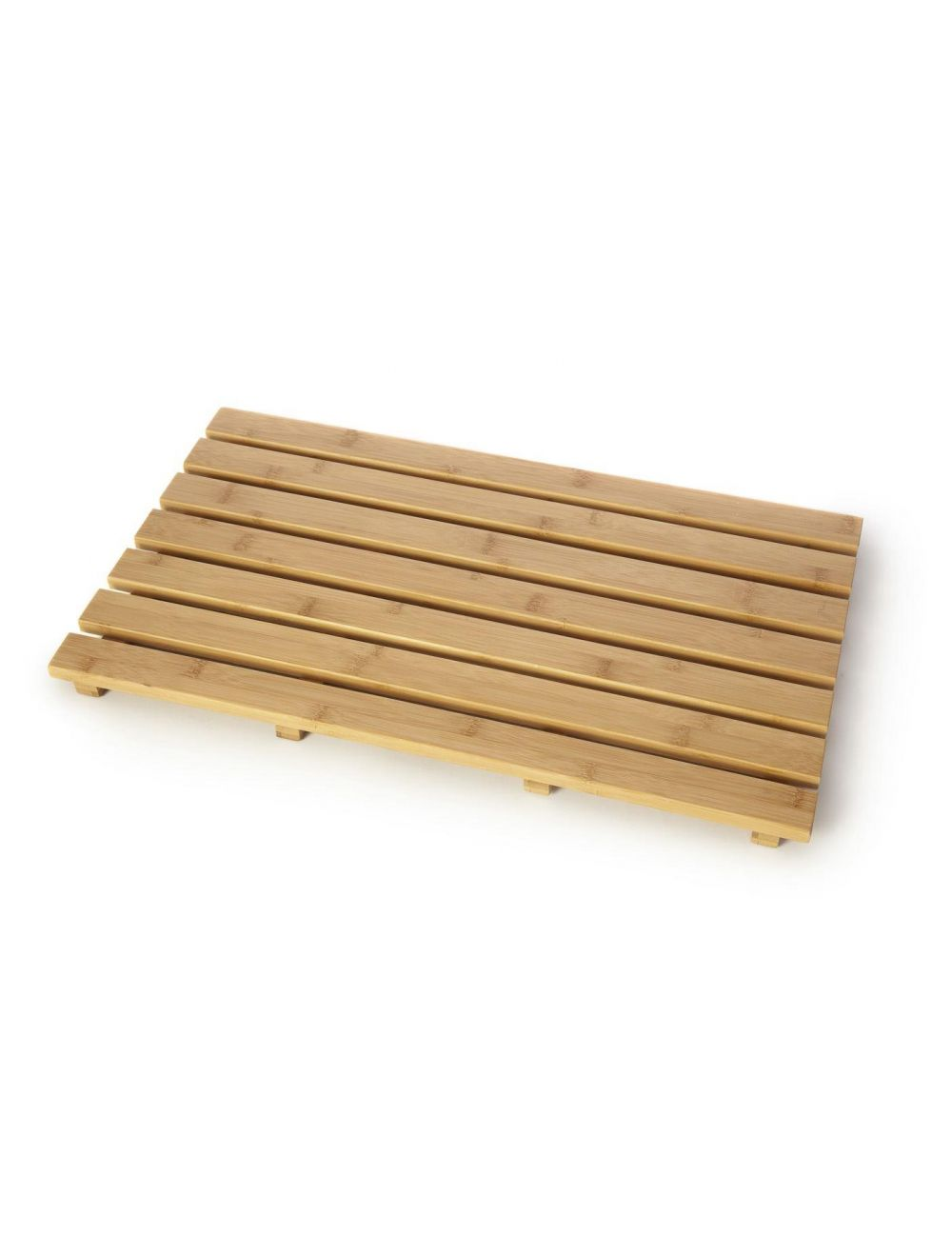 Buy Anti Slip Duck Board Natural Wood Wooden Bathroom Rectangular Bath Shower Mat From Unibos