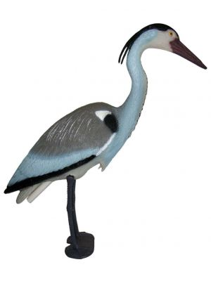 Heron Decoy Bird Deterrent Scarcer Weatherproof Perfect for Protecting Your Fish and Pond Brand New
