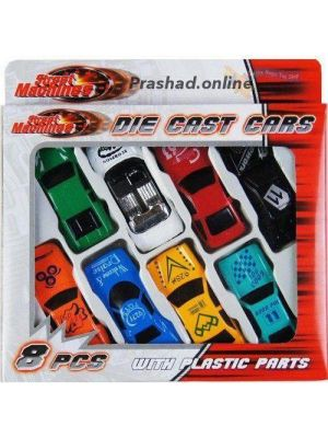 NEW 8 Pcs Die Cast F1 Racing Car Vehicle Play Set Cars Kids Boys Toy