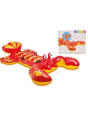 INTEX LARGE LOBSTER RIDE ON SWIMMING POOL FLOAT TOY INFLATABLE BEACH LILO AID by Intex