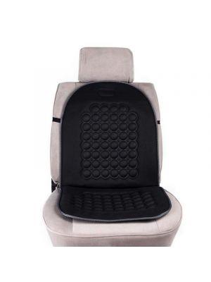 Universal Comfortable Car Seat Cover Black Massage Cushion