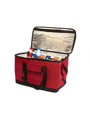 EXTRA LARGE 30L 60 CAN INSULATED COOLER COOL BAG COLLAPSIBLE PICNIC CAMP