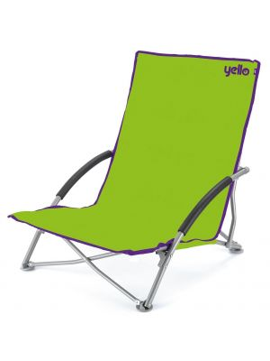 Yello Low Folding Beach Chair For Camping Pool Beach Picnic