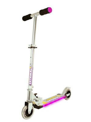 Ozbozz Lightning Strike Scooter Pink