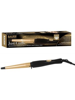 Professional Conical Ceramic Hair Curling Wand Salon Curlers Tong Styler