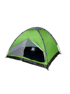 4 Person Camping Pinnacle Dome Tent Waterproof Shelter Outdoor Hiking Green