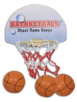 Bathketball Bathroom Fun - Mini Basketball Game