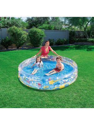 Bestway Inflatable Kids Ocean Life Swimming Paddling Pool