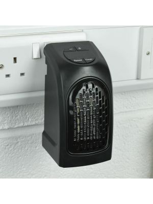 350W Handy Heater Compact Plug-In Digital Electric Heater With LED Display