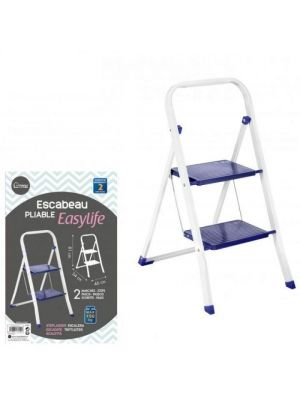 Heavy Duty Non Slip Safety Mat Tread Foldable Kitchen Home 2 Steps Ladder