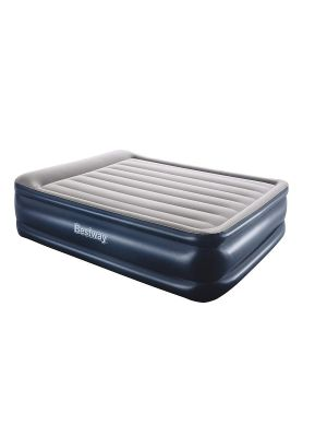Queen Size Double Air Bed with a Built-in Electric Pump and Pillow Camping Guest