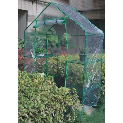 Https Www Ebay Co Uk Itm Large Walk In Greenhouse With Double Shelves Pvc Cover