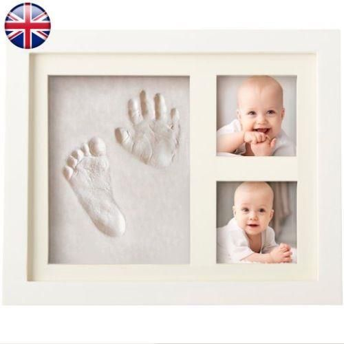 BABY/'S FIRST HANDPRINT AND FOOTPRINT PLASTER MOULDING KIT