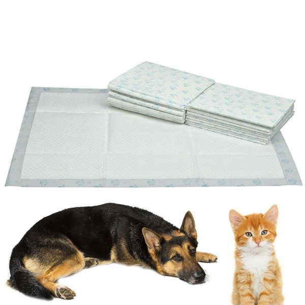 40 Puppy Pads Dog Pet Toilet House Training 60x40cm Wee Potty Pee Mats Cat